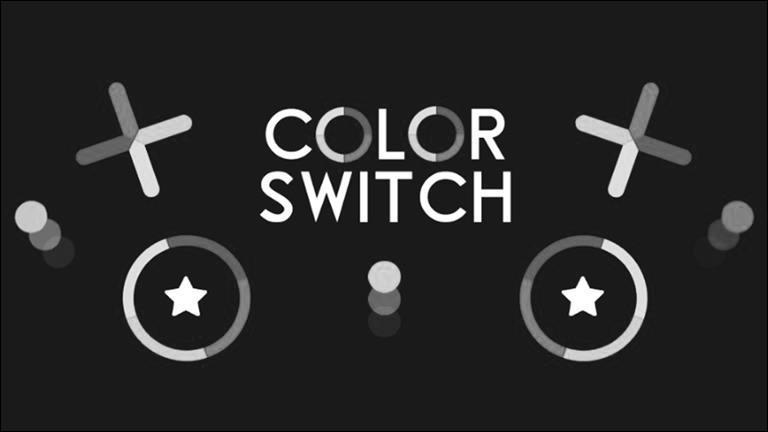 Quelle couleur ne voit-on pas dans le jeu ''Color Switch'' ?