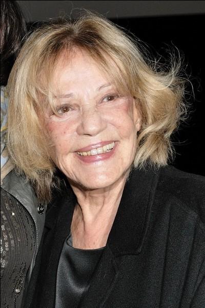 Qu'a reçu Jeanne Moreau comme récompense de la part de l'Académie américaine des arts et des sciences du cinéma ?