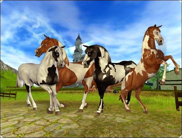 (Avant de commencer, il y a le lien de ma chaîne à la Question n°10. Abonnez-vous svp)Quels sont les tout premiers chevaux qu'on pouvait acheter ?