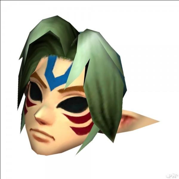 Quel est le nom de ce masque obtenu dans ''The Legend of Zelda Majora's Mask ''?