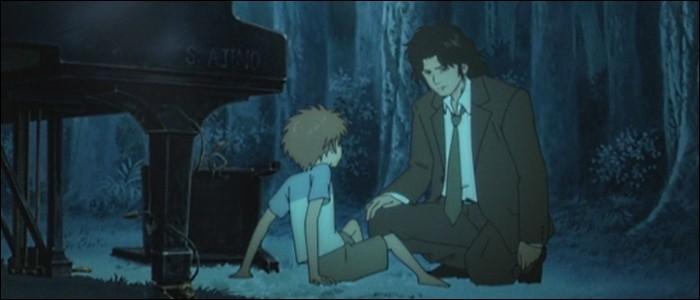 Dans le passé, le piano de la forêt appartenait à Ajino.
