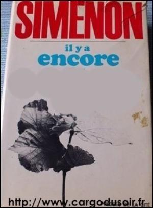 Retrouvez le titre du roman de Georges Simenon :