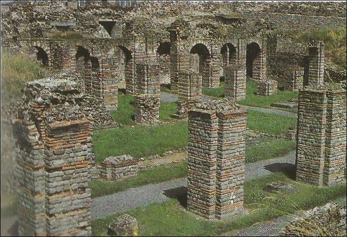 Quel est le nom actuel de la ville romaine Bagacum ?