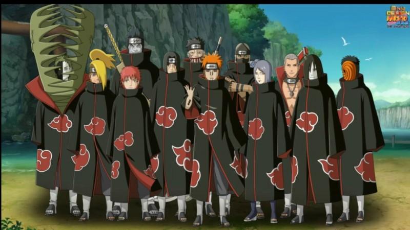 Qui tire les ficelles de l'Akatsuki (dans l'ordre) ?