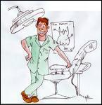 Mon métier consiste à vous soigner les dents. Je suis un __________.