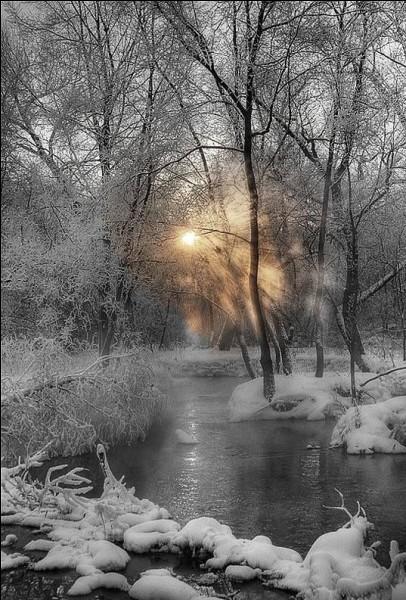 """Qui chantait """"Le sol est solide et glacé, les branches cassent comme du verre, la rivière s'est arrêtée, il fait plus hiver qu'en hiver"""", dans sa chanson """"Le feu à la peau"""" ?"""
