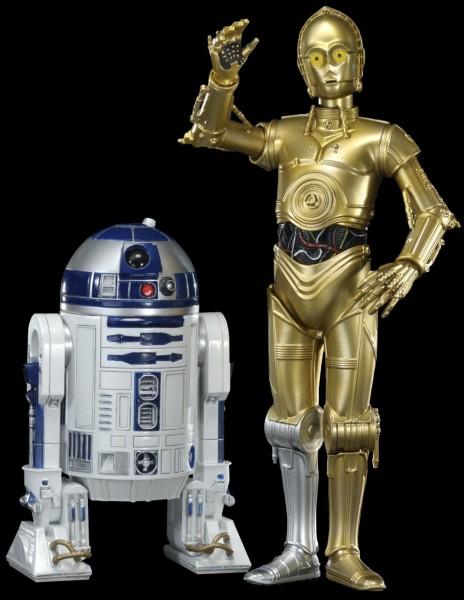 """Dans combien de films """"Star Wars"""" voit-on C-3PO (Z-6PO) et R2-D2 (dans le même film) ?"""