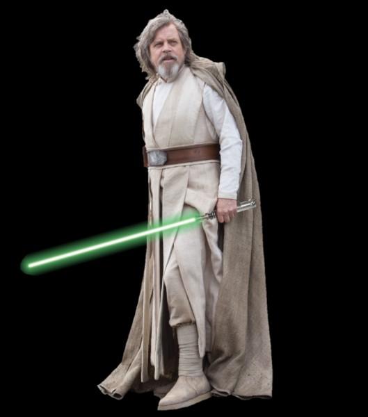 Quand et où est mort Luke Skywalker ?