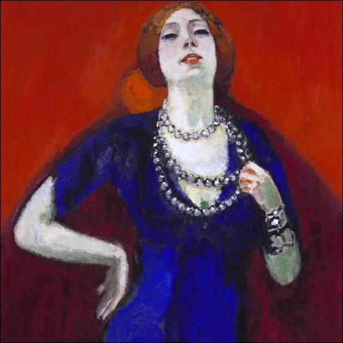"""""""La Robe Bleue"""" 1911"""