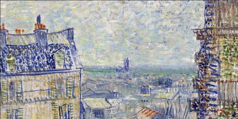 """""""Vue depuis l'appartement de Théo"""" 1887"""