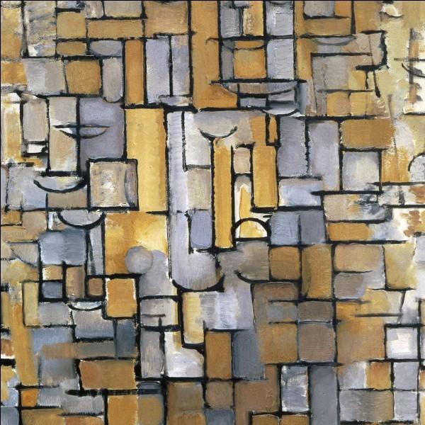 """""""Composition XIV"""" 1917"""