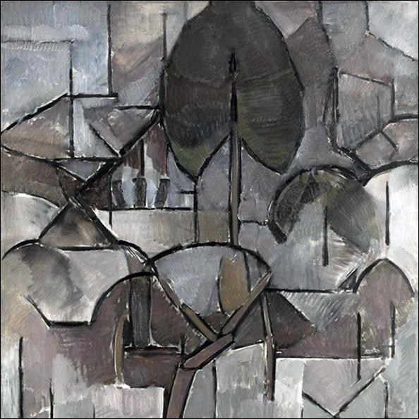 """""""Paysage avec arbres"""" 1912"""