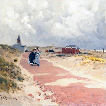 """""""Vue de Schevenigue"""" vers 1870"""