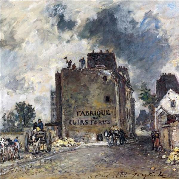 """""""Rue des Francs-Bourgeois Saint-Marcel"""" 1868"""