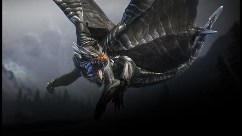 Ce dragon, très puissant, se trouve dans les lieux enneigés. Qui est-ce ?