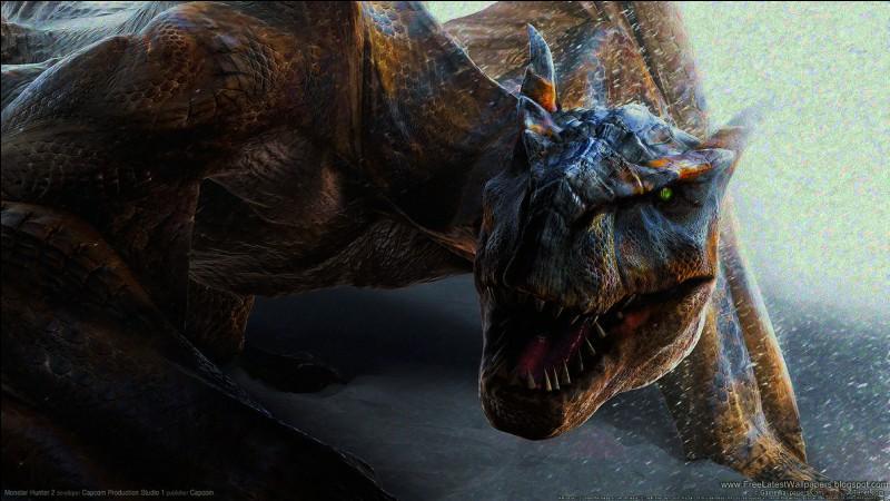 Ce monstre, très rapide, peut s'accrocher grâce à ses serres. Il a plusieurs sous-espèces, mais la principale se trouve dans le désert. C'est un :