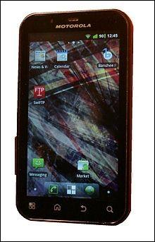 Merci Motorola d'avoir relancé sa gamme grâce au tactile. C'est un...