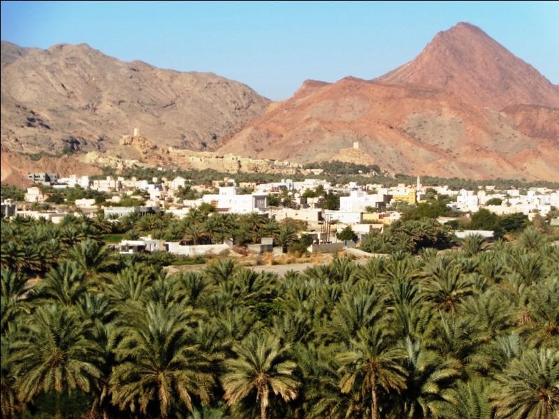 """Le point culminant du pays, le Djebel Shams (3009 mètres), se situe au nord-est, dans les monts Hajjar. Comment peut-on traduire """"Djebel Shams"""" en français ?"""