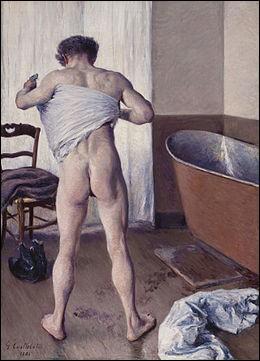"""Qui a peint """"Homme au bain"""" ?"""