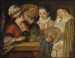 """Qui a peint """"Les Acteurs de la Comédie-Française"""" ?"""
