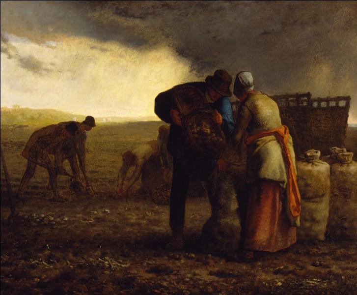 """Qui a peint """"La Récolte des pommes de terre"""" ?"""