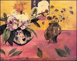 """Qui a peint """"Nature morte à l'estampe japonaise"""" ?"""