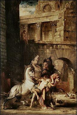 """Qui a peint """"Diomède dévoré par ses chevaux"""" ?"""
