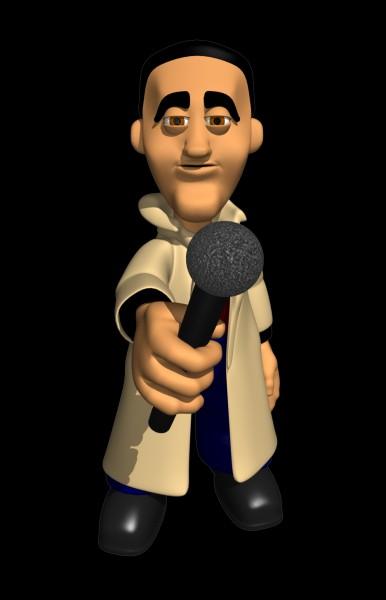 Comment se nomme le reporter, ami de Fantômette ?