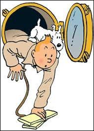 Où ont-ils marché d'après le titre d'une bande dessinée de Tintin ?