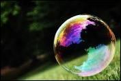 Tu vois une bulle. Qu'en penses-tu ?