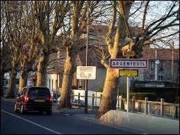 Si vous habitez à Argenteuil (Val-d'Oise), vous êtes un ou une ...