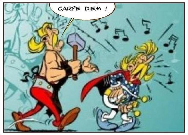 Astérix retrouve son latin (V)
