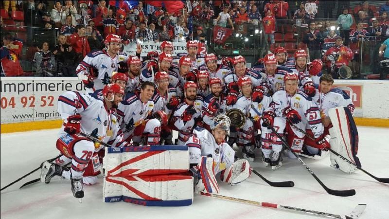 Quel est le nom du club de hockey de Grenoble ?