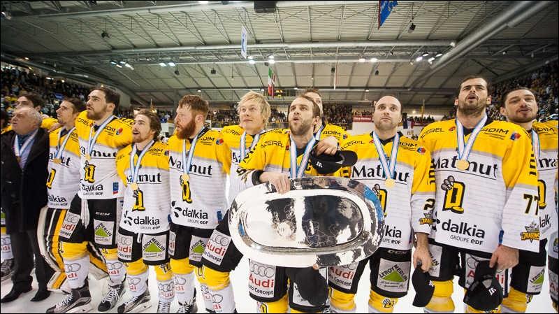 Qui a gagné le championnat de la Ligue Magnus en 2016 ?
