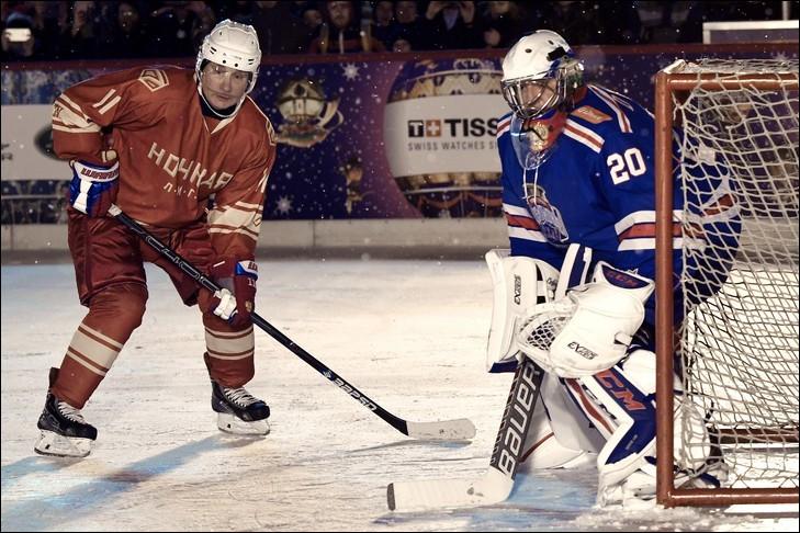 Au cours d'un match les hockeyeurs ont-ils le droit de se bousculer ?