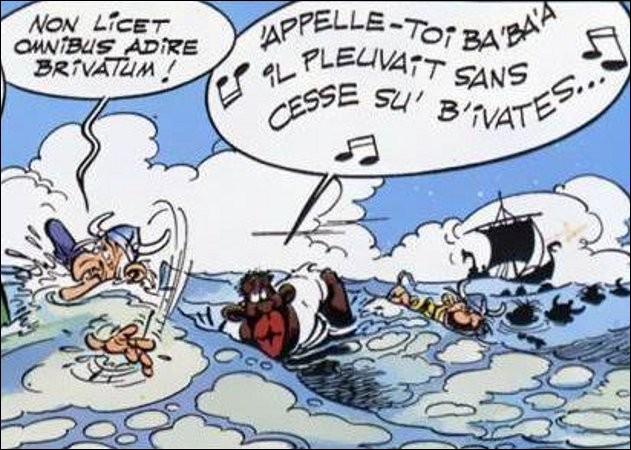 Il n'y a pas à dire, ces pirates sont des champions de natation... et de citations ! Que signifie celle-ci ?