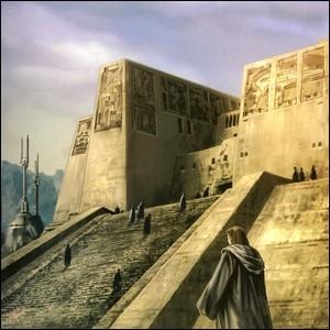 Quel ancien temple Jedi sert de base rebelle dans l'épisode 4 ?