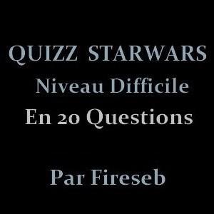 Quizz Star Wars 'Expert'