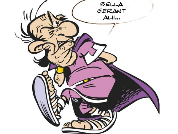 C'est sous les traits de Jacques Séguéla que Bonus Promoplus tient cette réplique cynique. Comment la traduire ?