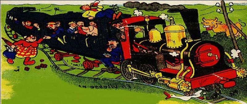 Qu'appelait-on « Le train direct pour Charenton » au 19e siècle ?