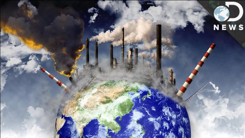 Ton pays est riche et commercial. On t'apprend que tu dois un peu stopper les productions car la Terre est polluée. Que fais-tu ?