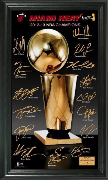 Qui a gagné le titre NBA en 1977 ?