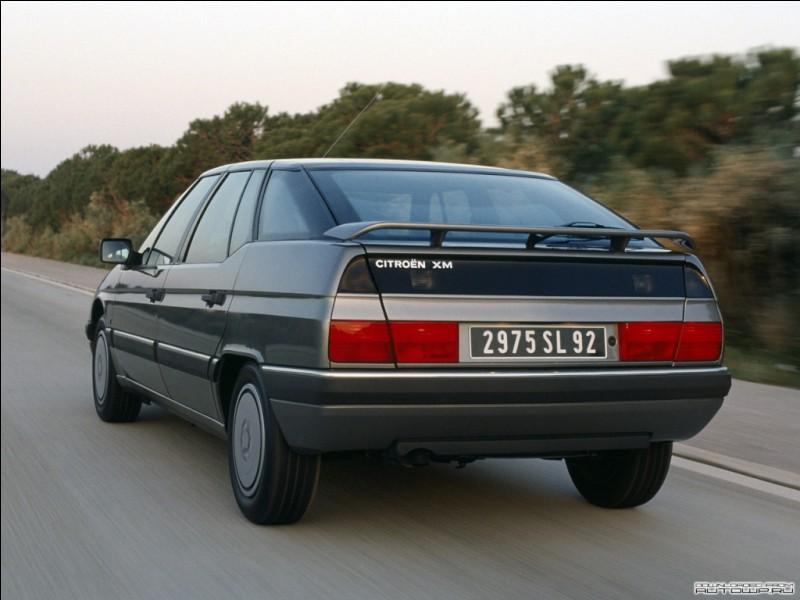 Est-ce que la Citroën XM a existé en version électrique ?
