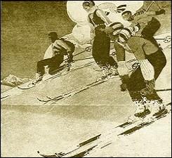 Pour une glisse idéale, les skis vous enduirez.