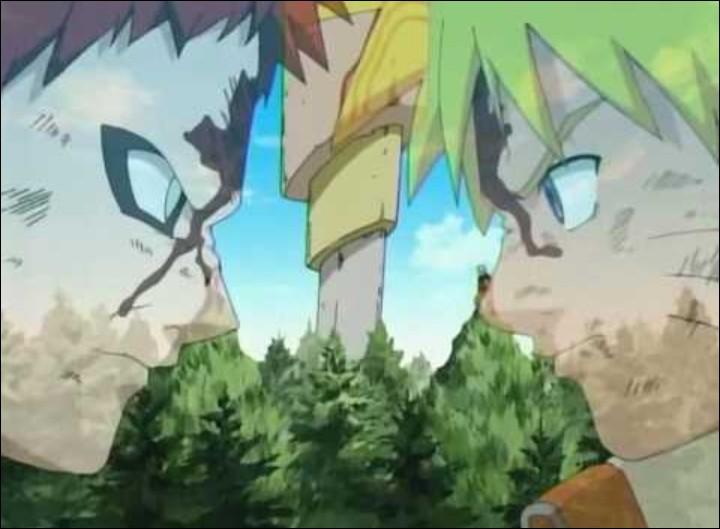 Quand Konoha se fait attaquer, qui gagne entre Gaara et Naruto ?