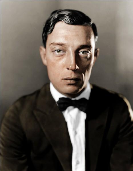 Buster Keaton était une vedette du cinéma...