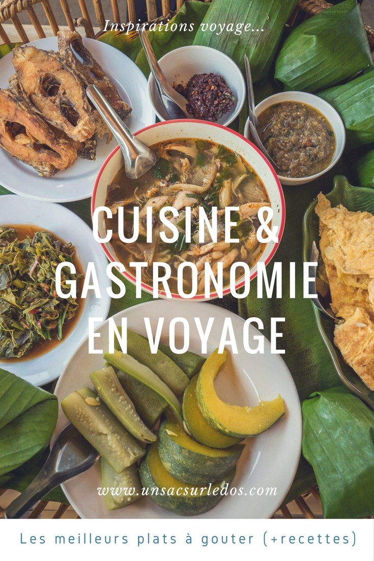 Pays et inventions culinaires