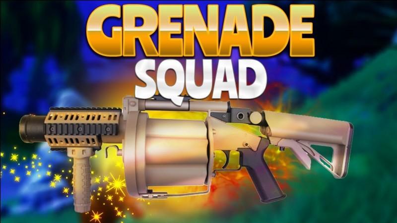 On recharge le lance-grenades avec des ...