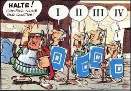 """Le chiffre romain """"V"""" est..."""