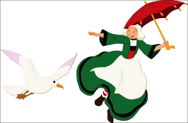 Qui est ce personnage de bande dessinée, accompagné d'un oiseau ?
